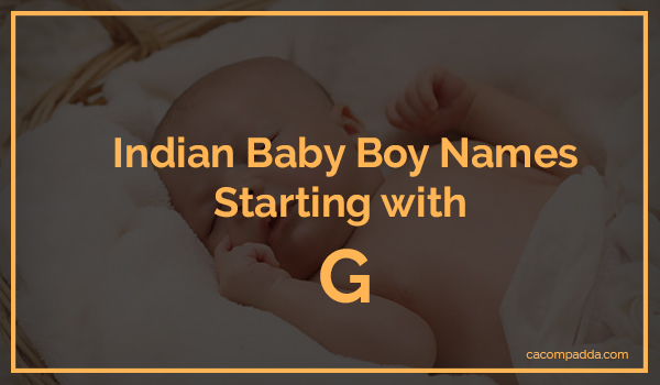 18+ Sanskrit baby boy names with g ideas in 2021